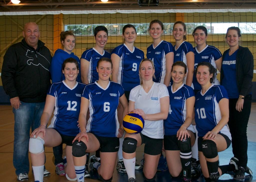 Celtique volleyball féminin