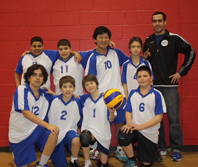 L'équipe 2011-2012 qui a participé à l'Invitation 2 le 18 février 2012