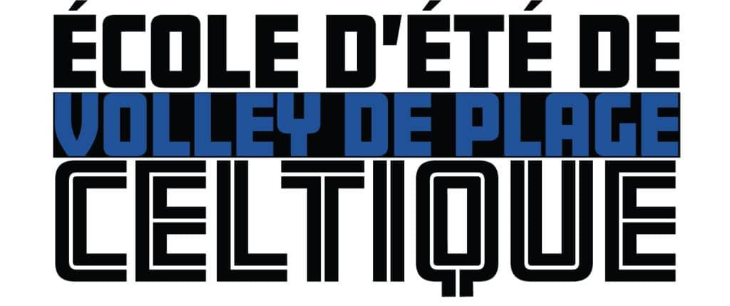 Logo - école d'été de volley de plage
